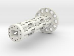 Wire support in White Natural Versatile Plastic