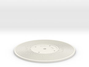 Stairway to Heaven - Fisher Price record (3mm) in White Natural Versatile Plastic