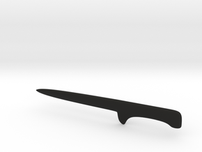 AC Altair Knife for figure in Black Strong & Flexible