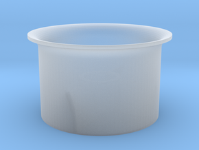 DF18 6mm in Smooth Fine Detail Plastic