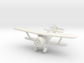 1/144 Polikarpov I-152 in White Natural Versatile Plastic