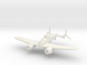 1/144 Bristol F.11/37 (wheels optional) in White Natural Versatile Plastic