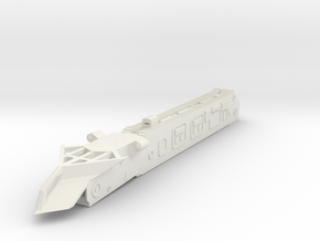 1/300 Nellie Cultivator No.6 in White Natural Versatile Plastic