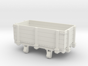 55n3 10ft 4w Gondola highside (4p) in White Natural Versatile Plastic