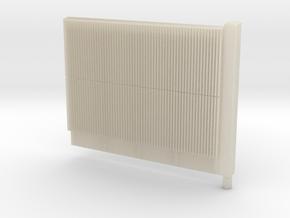 Beton-schallschutzwand mit Pfeiler  in White Acrylic