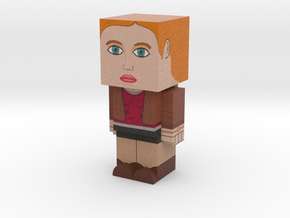 Amy Pond (Doctor Who) in Full Color Sandstone