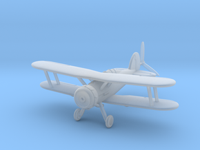 1/144 Gloster Gladiator Mk.II in Smooth Fine Detail Plastic
