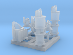 HOn30 Detail parts for 2-8-0 steam loco - B in Smooth Fine Detail Plastic
