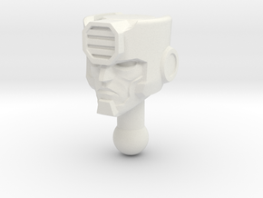 KUP homage Ironside for TF Prime Ironhide  in White Natural Versatile Plastic