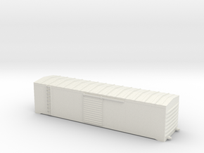 Cometarsa Boxcar Smooth lateral Body in White Natural Versatile Plastic