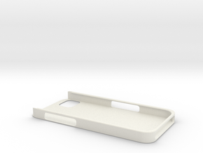 iPhone5 Protective Case in White Natural Versatile Plastic