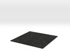 Wolfrule#117 Wall Tile 2mm in Black Strong & Flexible
