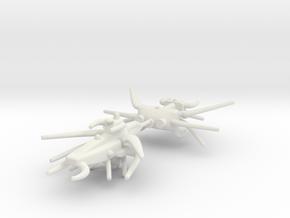 Shaded Hyper Neon Split in White Natural Versatile Plastic