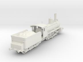 1/100 (15mm wargame) Soviet Ov class Steam Locomot in White Natural Versatile Plastic