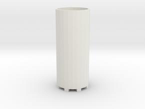 Adapter for Glass Vials v 1 in White Natural Versatile Plastic