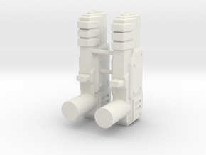 Oracle x2 Blasters in White Strong & Flexible