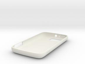 atrix 2 case in White Natural Versatile Plastic