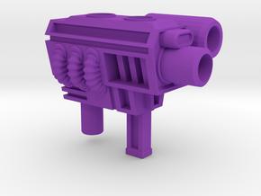 Generation 2 Sideswipe 5mm Gun in Purple Strong & Flexible Polished