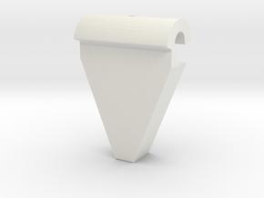 PictureHangingRail in White Natural Versatile Plastic