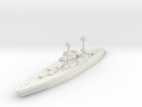 South Dakota Class (BB-49) 1:3000 x1 in White Strong & Flexible