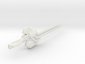 TFP Dreadwing's Big Blade (no peg) in White Natural Versatile Plastic