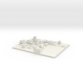 NPC village  in White Natural Versatile Plastic