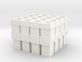 skorsten 3 in White Processed Versatile Plastic