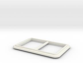 Festerrahmen Thyssen II Graupner in White Natural Versatile Plastic