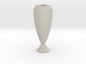 Flower Vase_5 in Sandstone