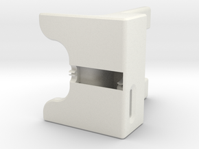 WaveGuide (a dock for iPhone 5 - 3 Degree Incline) in White Natural Versatile Plastic