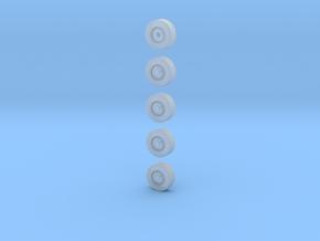 0002/0003-Geländereifenset +Reserve mit Druckregel in Frosted Ultra Detail