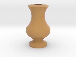 Flower Vase_13 in Full Color Sandstone
