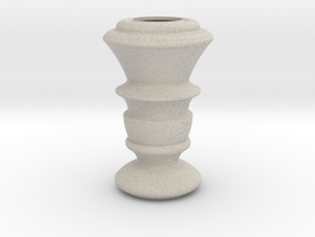 Flower Vase_19 in Natural Sandstone