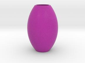 IkebanaVase-8 in Full Color Sandstone