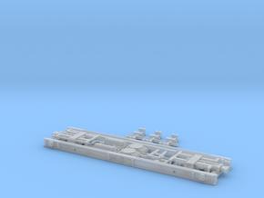 Neubau Rollwagen RF4 mit Saugluftbremse in H0m in Smooth Fine Detail Plastic