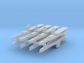 Providence Class CLV 1:6000 x8 in Smooth Fine Detail Plastic