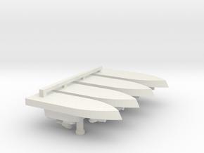1/700 Vietnam ASPB x 4 off in White Strong & Flexible