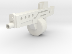 auto12Blaster in White Natural Versatile Plastic
