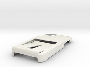 TankTriiphone5casew3CC1IDholder in White Natural Versatile Plastic