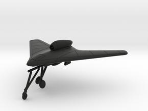 1/144 Gotha P.60A wheels down in Black Strong & Flexible