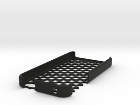 iPhone 4s honeycomb case in Black Strong & Flexible