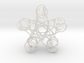 Pentagonal Knot in White Strong & Flexible