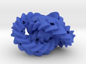 Triple gear in Blue Processed Versatile Plastic