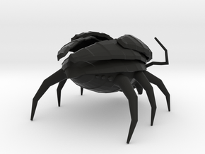 Low Poly Insect 1 in Black Strong & Flexible