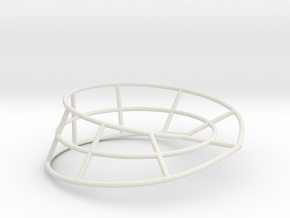 moebius ring | line 8 b in White Strong & Flexible