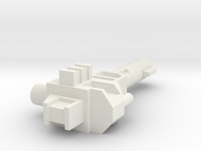 Sunlink - Brute Force: Vamoose Gun in White Natural Versatile Plastic