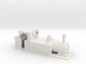 On16.5 Large tank loco  in White Natural Versatile Plastic