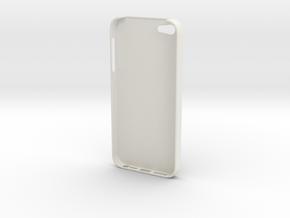 iPhone 5 Skull Case in White Natural Versatile Plastic