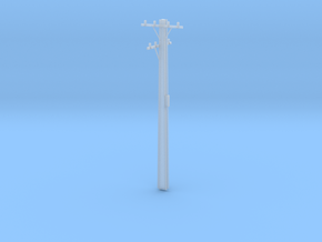 10m HO Scale Stobie Pole in Frosted Ultra Detail