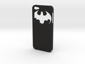 iPhone 5 Batman Case in Black Strong & Flexible